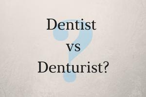 dentist vs denturist image